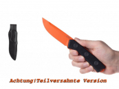 ANV Knives - ACTA NON VERBA - P200 MK ll Orange DLC verzahnt Klinge Leder