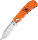 Kansept Knives Bevy Folder Orange Spider
