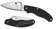 Spyderco UK Penknife LEAF Shape, FRN Spyderco C94PBK, UKPK