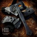 Halfbreed Blades CBA-01 Compact Battle Axe Black