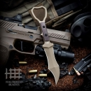 Halfbreed Blades CCK-03 Dark Earth Tuhon Raptor