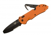 Benchmade 916SBK-ORG - TRIAGE Blunt Tip Axis