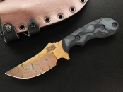 Dawson Knives Forester - Copper Finish pewter/ black
