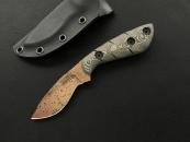 Dawson Knives Pequeno Copper Finish tan black