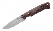 White River Knives Hunter Natural Burlap Micarta