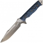 Preview: Dawson Knives Mojave 6 Blue and Black Hamon