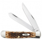 Preview: Case Taschenmesser SS Amber Jigged Bone Trapper - mit Clip