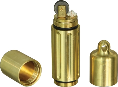 Maratac Lighter Vault Cache Brass
