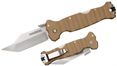 Cold Steel Taschenmesser Immortal Coyote Tan