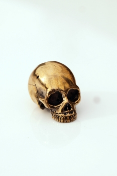 Lion ARMory classic Skull Bead aus Messing