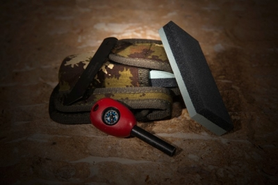 Extrema Ratio DOUBLE GRAIN SHARPENER AND FLINT