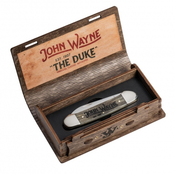 Case SS John Wayne Gift Set Natural Bone Canoe