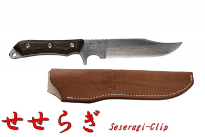 kanetsune outdoor knives KB 265 seseragi clip point