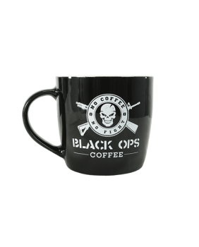 Black Ops Coffee OPERATOR CERAMIC MUG