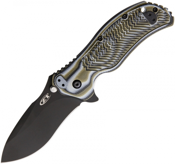 Zero Tolerance 0350 Linerlock A/O Predator Green