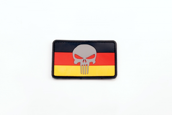 PVC PATCH GERMAN PUNISHER AIRSOFT PATCH