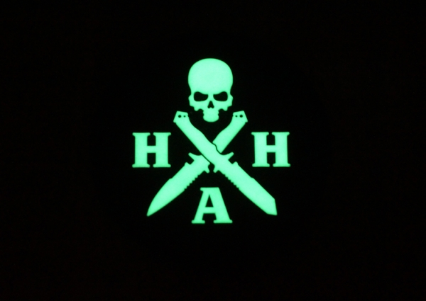 Patch Hardcore Hardware Glow in the Dark