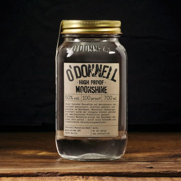 O'Donnell - High Proof - Moonshine - 350ml