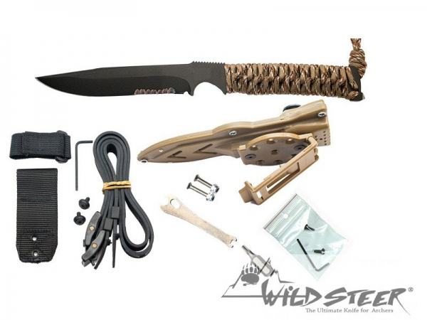 Wildsteer Kraken taktisches messer