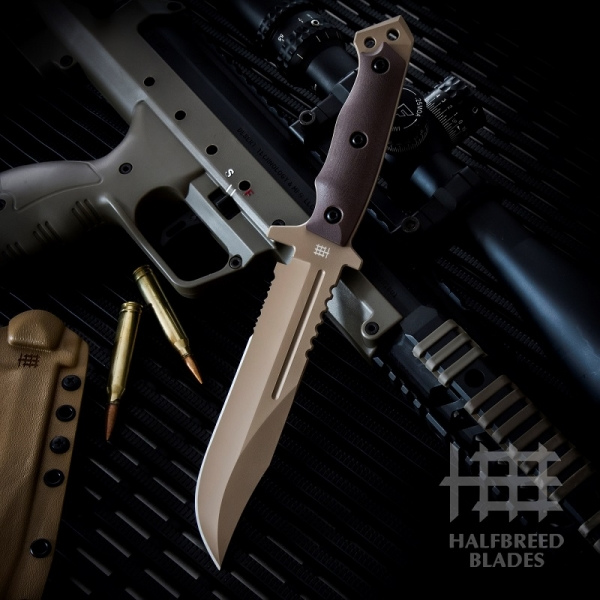 Halfbreed Blades LIK-01 Dark Earth