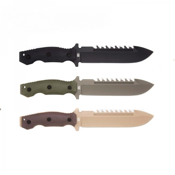Halfbreed Blades LSK-01 Black Large Survival Knife