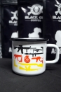 Black Ops Coffee FLAGGEN EMAILLE BECHER