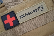 Oberland Arms Patch Bleibxund coyote
