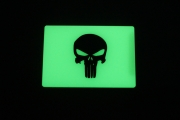 TEC Accessories BEACON Patch Green Punisher GitD