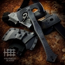 Halfbreed Blades CBA-01 Compact Battle Axe Black