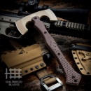 Halfbreed Blades CBA-01 Compact Battle Axe Dark Earth