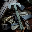 Halfbreed Blades CBA-01 Compact Battle Axe Ranger Green